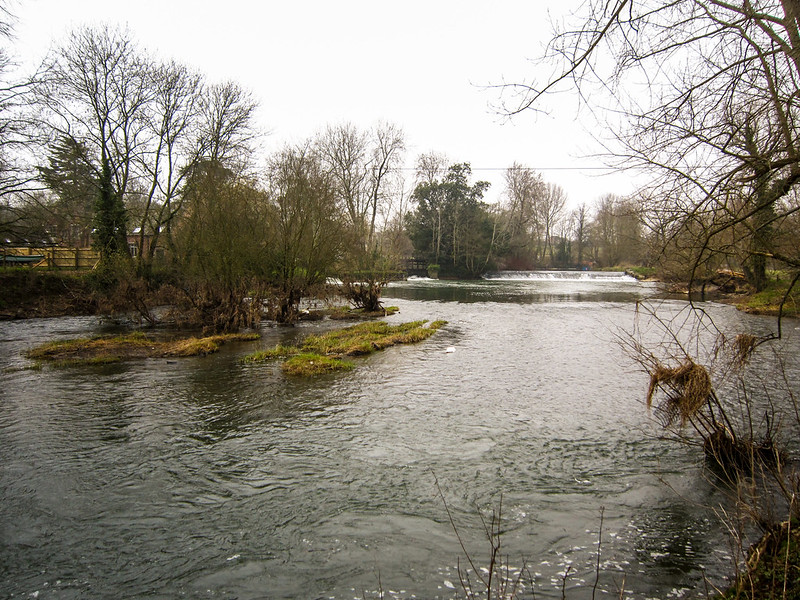 River Stour at Canford School