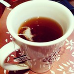 Last Friday's tea. I think I had the Apricot Ceylon or Tropical Passion. #teasir #iPhone