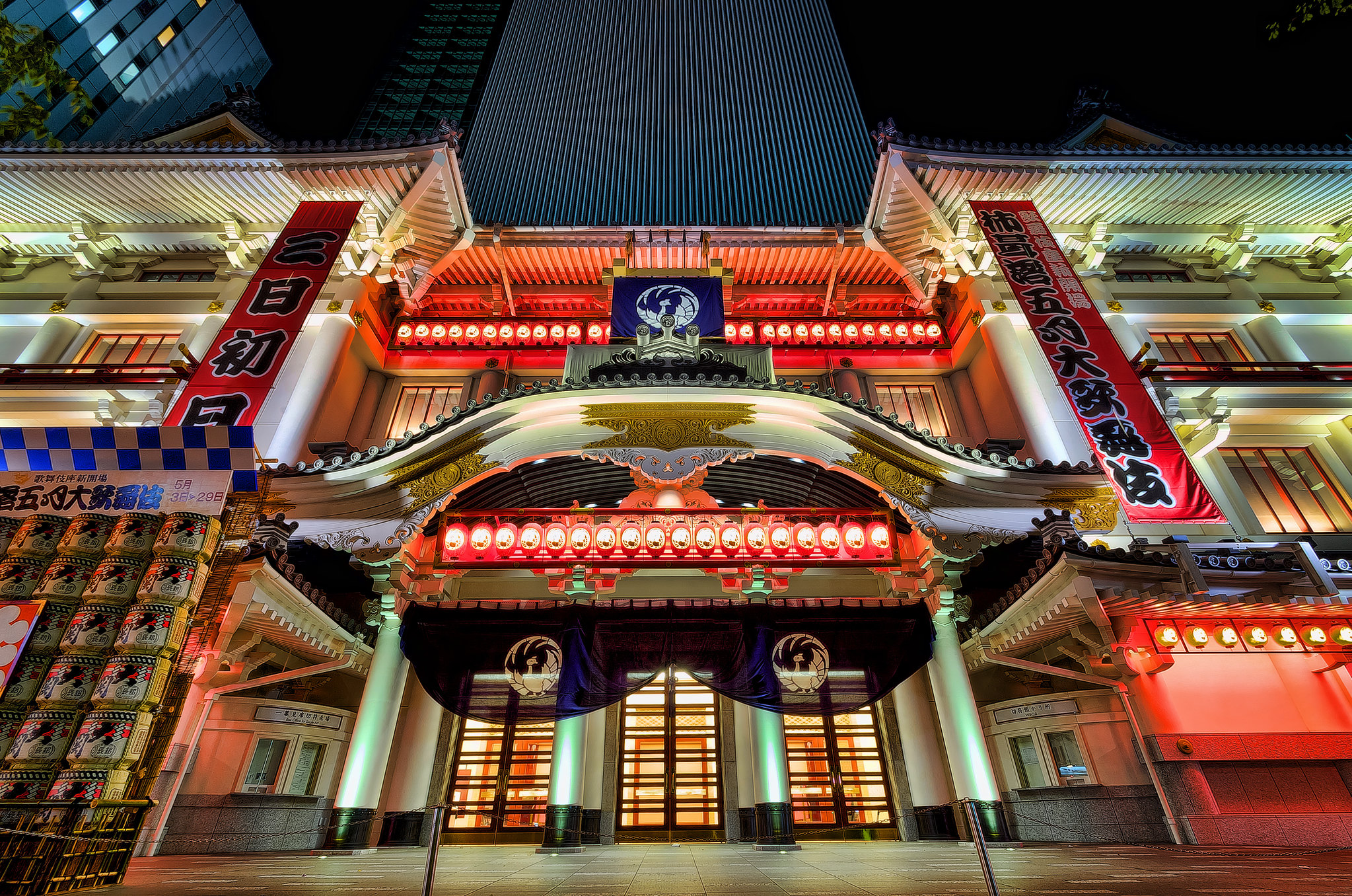 New KABUKI-ZA theatre