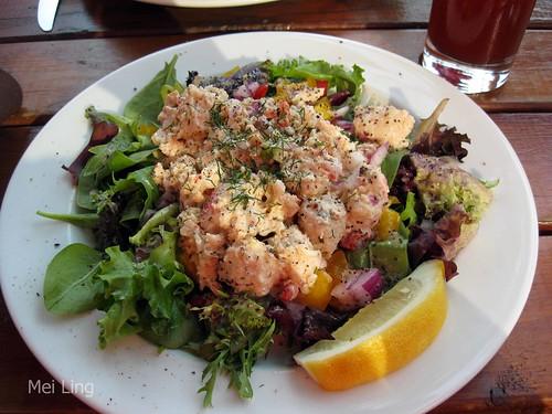 cold lobster salad