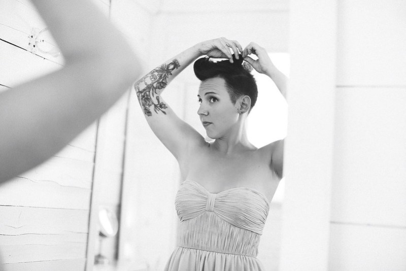 Wedding hair tips from @offbeatbride