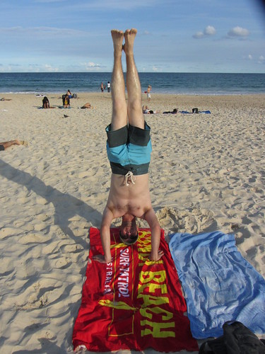 28. bondi beach headstand