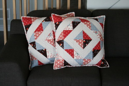 Sewing for a Friend - Pillows