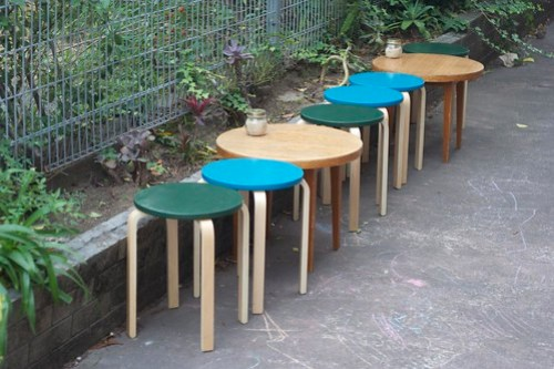 Outdoor seating - At all and sundry, Woonona