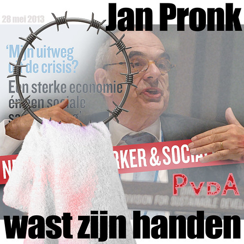 Jan Pronk Wast Zijn Handen by Tjebbe van Tijen / Imaginary Museum Projects