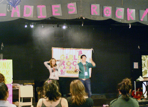 Hilken and Nora kick off Lady's Rock Camp
