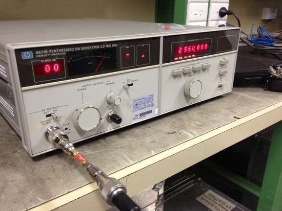 05 Signal Generator for 2560MHz