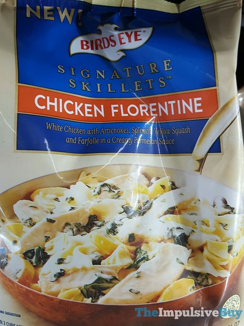 Birds Eye Chicken Florentine Signature Skillets