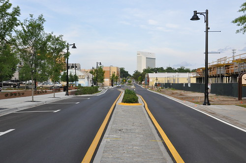 Gaines Street Road Completed -:- 0556