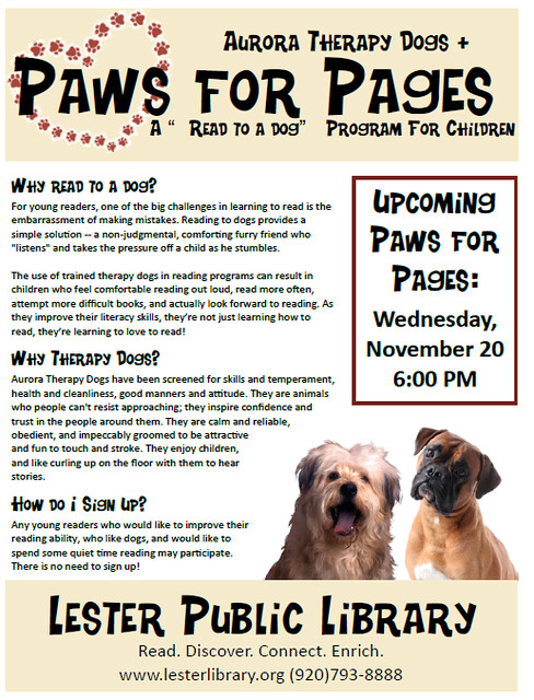 Paws for Pages
