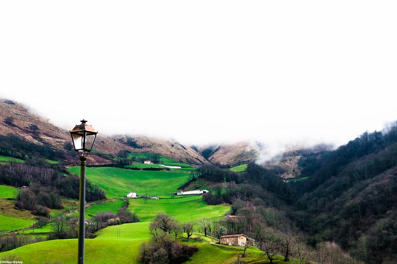 Camino de Santiago St. Jean-Pied de Port Pyrenäen