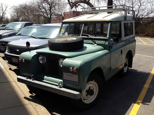 196x Land Rover Series IIA