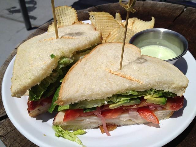B.L.O.A.T.T. sandwich - Solaire Restaurant + Bar