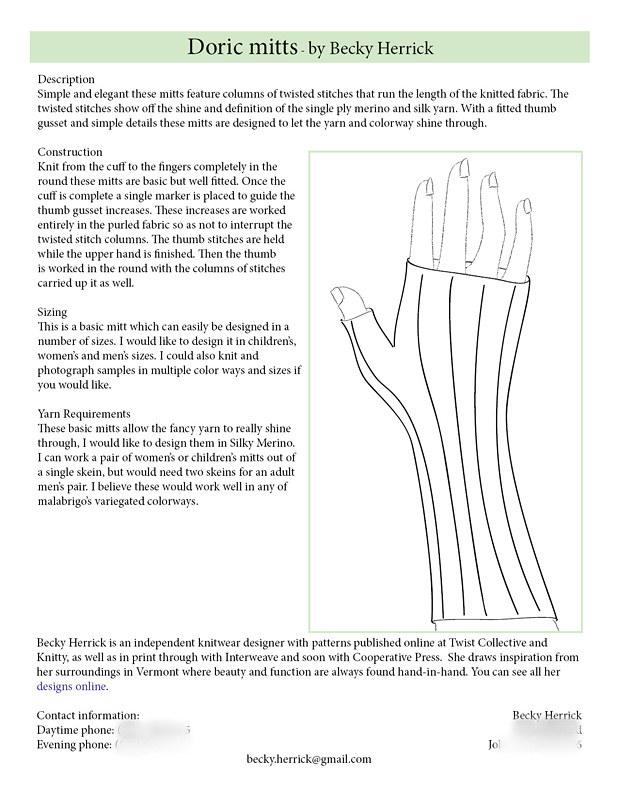 Herrick - Doric mitts