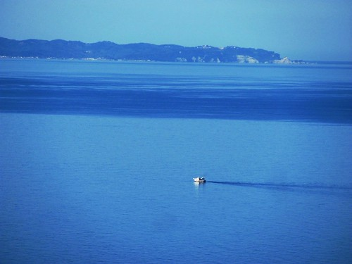 Adriatic Coast of Albania-Study in Blue
