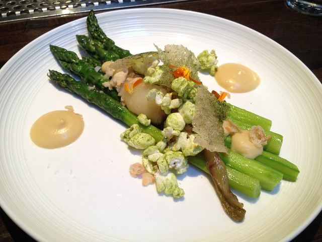 Asparagus and popcorn - Mission Bowling Club
