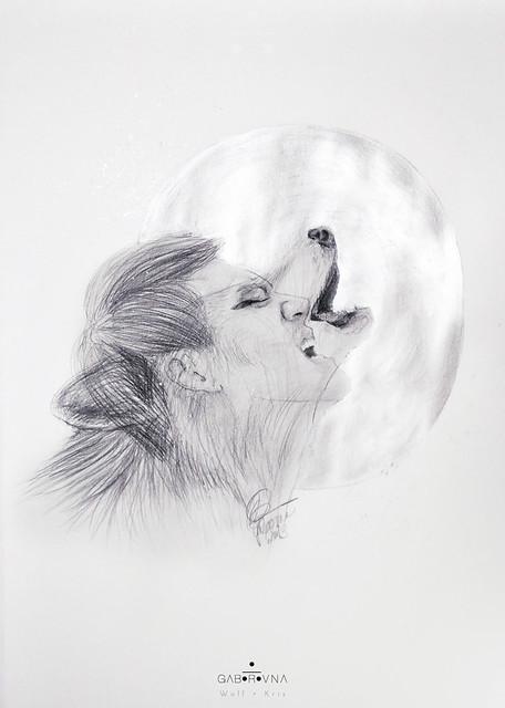 Wolf - Kris fanart (sketch)