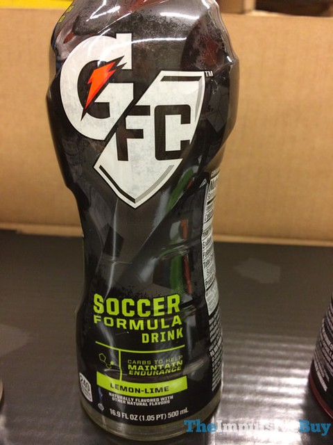 Gatorade-FC Lemon-Lime Soccer Formula Drink