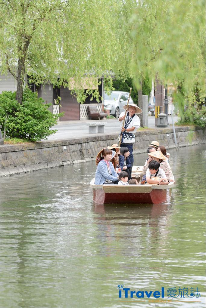 《福冈游船体验》柳川の川下り泛舟,从福冈前往近郊水乡体验平稳的绕城泛舟乐趣