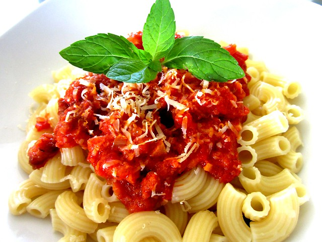 Homecooked pasta 2