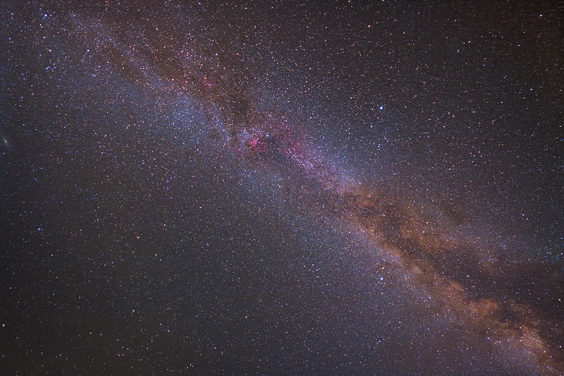 the Milkyway up in the sky! and a Video Tutorial to see how we made to do this photo!