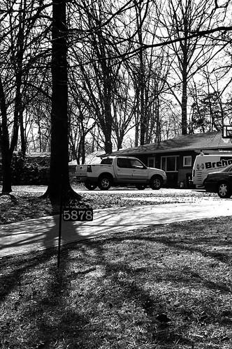 Neighborhood scene
