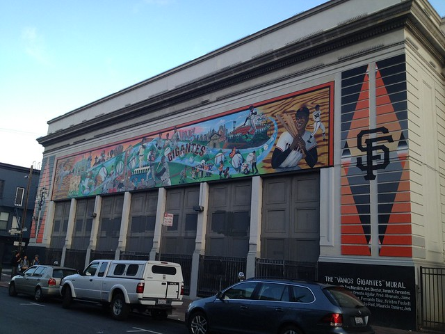Vamos Gigantes Mural