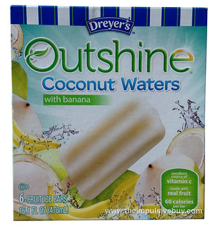 Dreyer's Outshine Coconut Waters with Banana