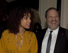 WHCA DINNER Alicia Keys, Harvey Weinstein