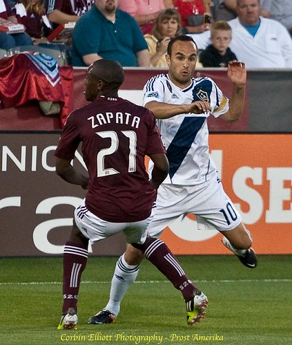 Colorado Rapids vs LA Galaxy Apr 21, 2012 by Corbin Elliott Photography, Westminster Co, Photographer