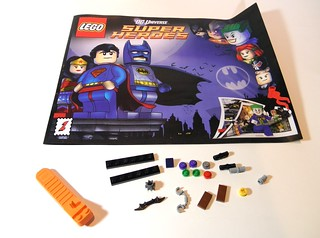 6857 funhouse extra parts and comic