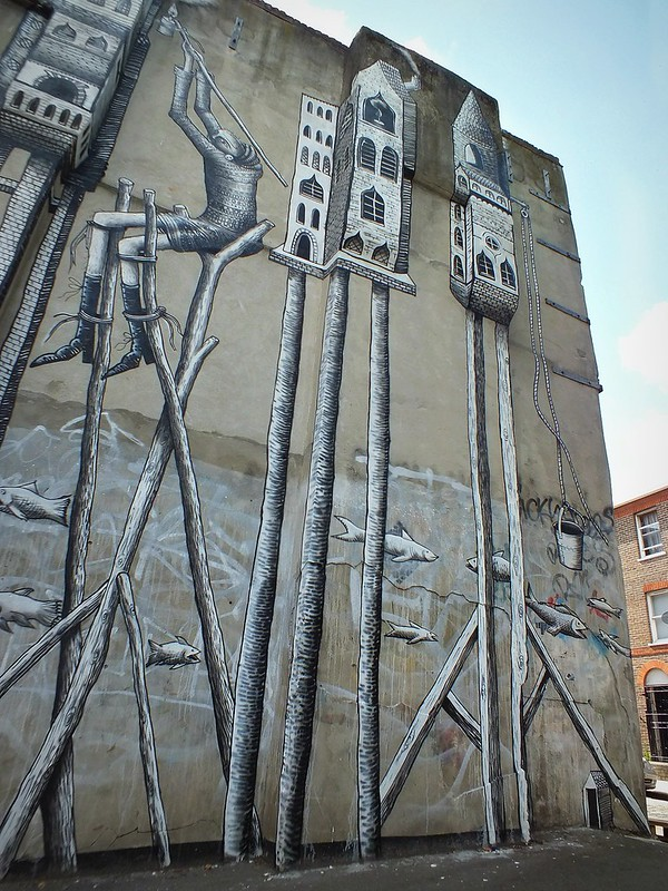 Phlegm Graffiti, Shoreditch, London