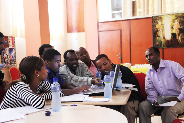 Participants of Results based monitoring and evaluation training workshop