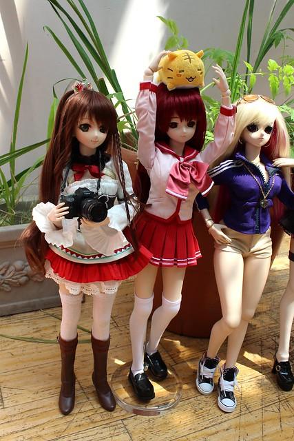 Sakura, Tamaki and Tai