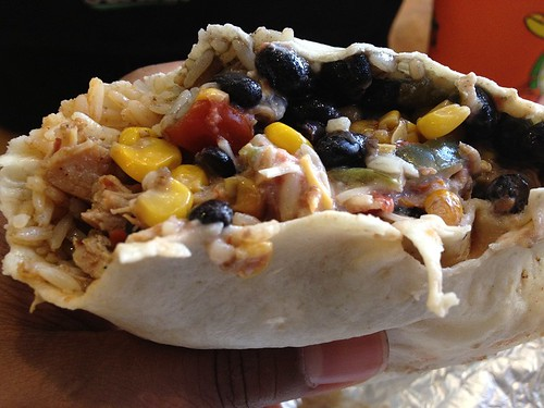 Chicken Burrito Innards