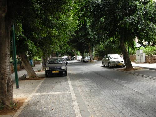 רחוב הרצל בכפר-סבא