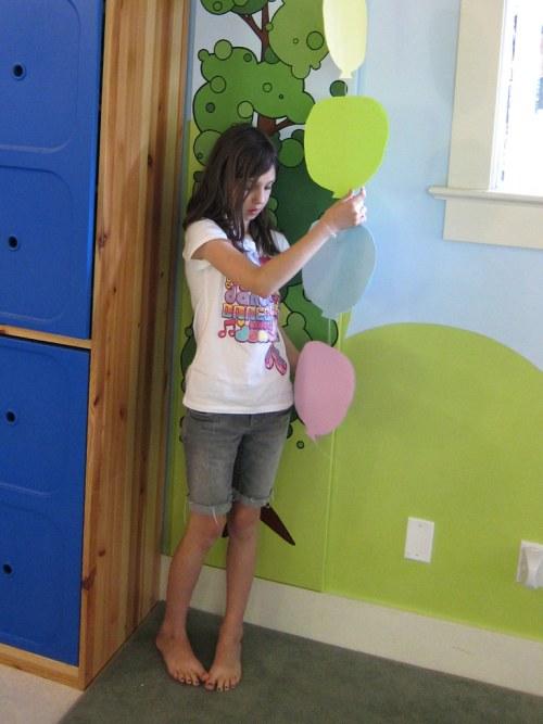 Sym's Balloon Garland