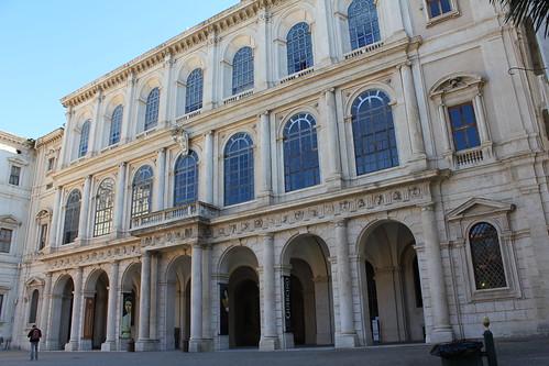 Palazzo Barberini-Fachada principal by Hesperetusa