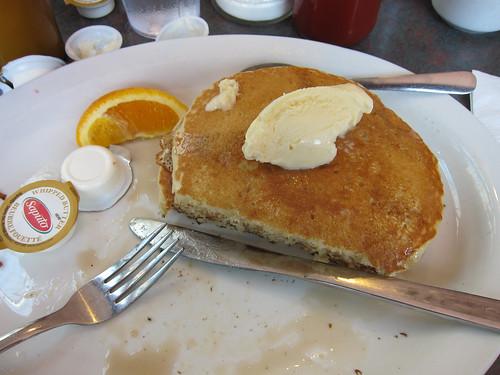 Pancakes a la Mode