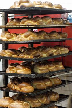 baked challah