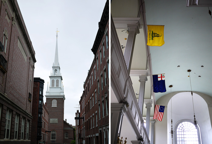 Old North Church Freedom Trail Boston 7