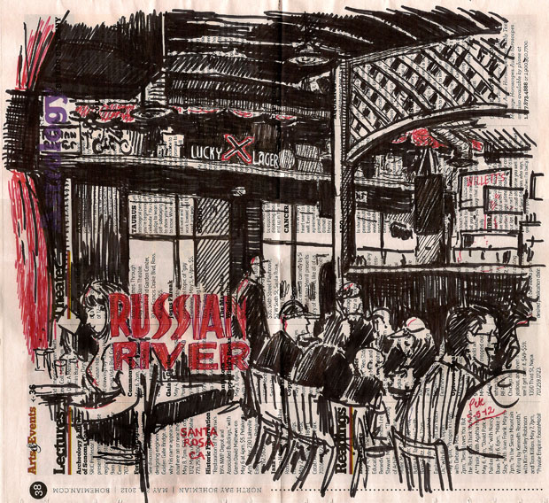 russian river brewing co, santa rosa