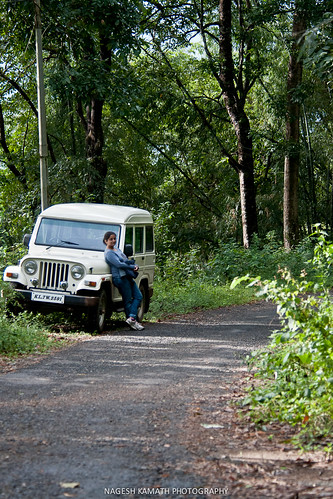 Eldhose's trusted jeep