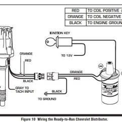 Delco Remy Hei Distributor Wiring Diagram Fuel Gauge Sending Unit 327 Chevy | Get Free Image About