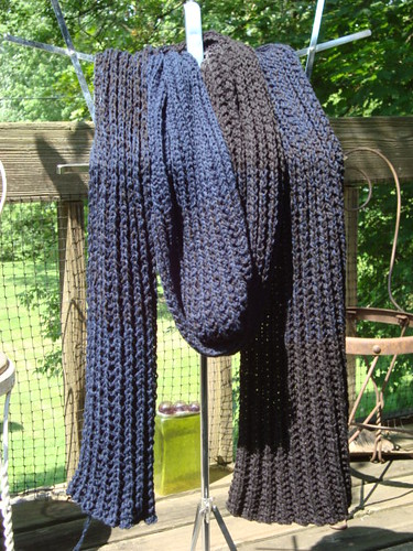 Gradated scarf!