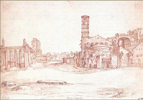 ROMA ARCHEOLOGIA: Il Foro Romano, Tempio del Divo Romolo e Torre dei Conte (XVI-XVII secolo)? by Martin G. Conde