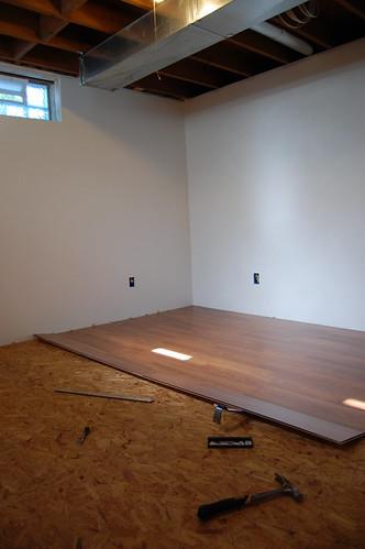 Final flooring