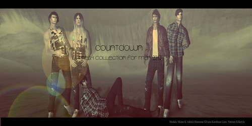 Countdown Mesh Collection For Men 2012 by SilvanoKorobase