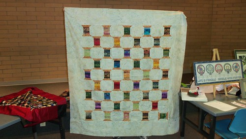 Spool quilt top without applique by ruthiequilts