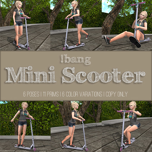!bang - mini scooter